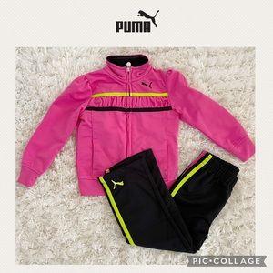 Puma girls matching set